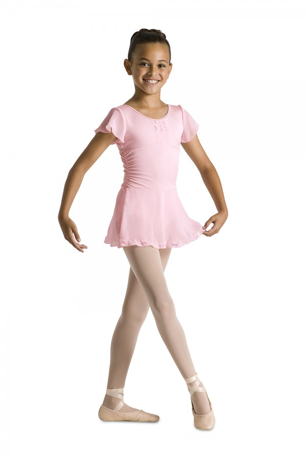 image - Flutter Sleeve Skrt Leotard Children's Dance Leotards