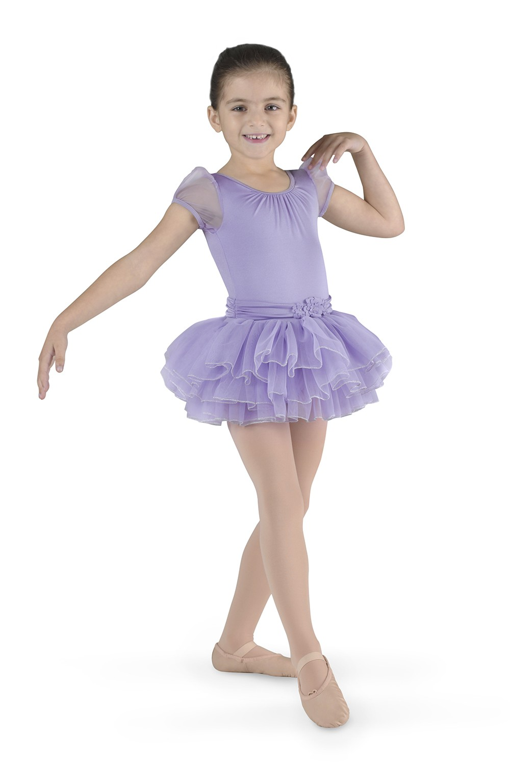 Tutu Cap Sleeve Leotard Children's Dance Leotards