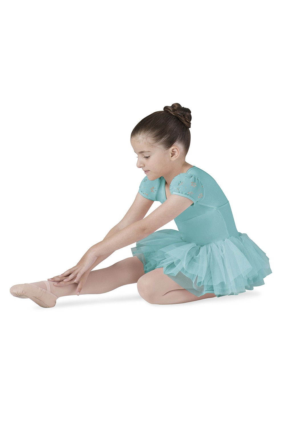 Puff Sleeve Tutu Leotard Children's Dance Leotards
