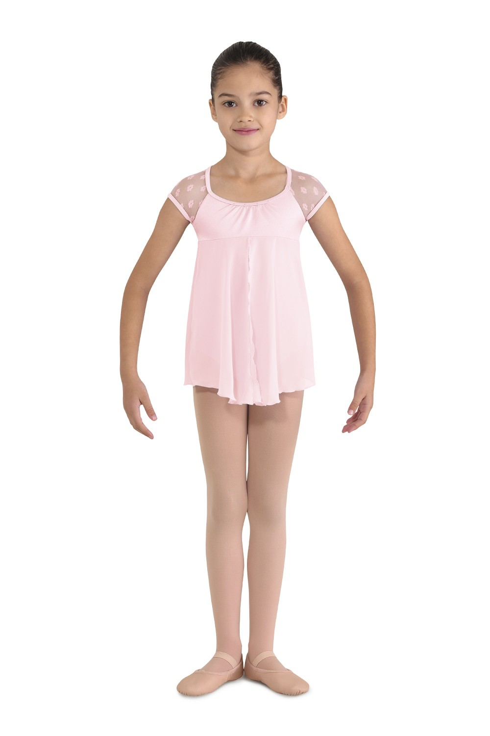 Cap Sleeve Dress Leotard Children's Dance Leotards