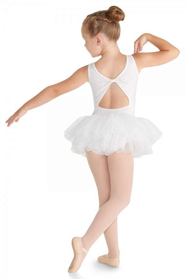 image - Bow Back Tank Tutu Children's Dance Leotards