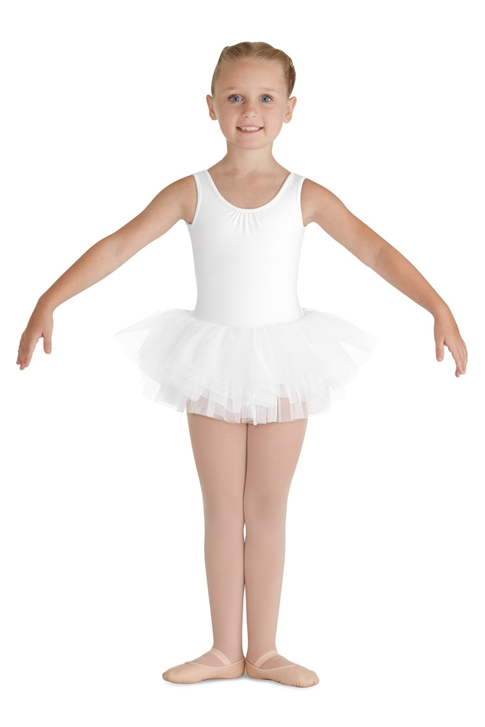 Bow Back Tank Tutu Children's Dance Leotards