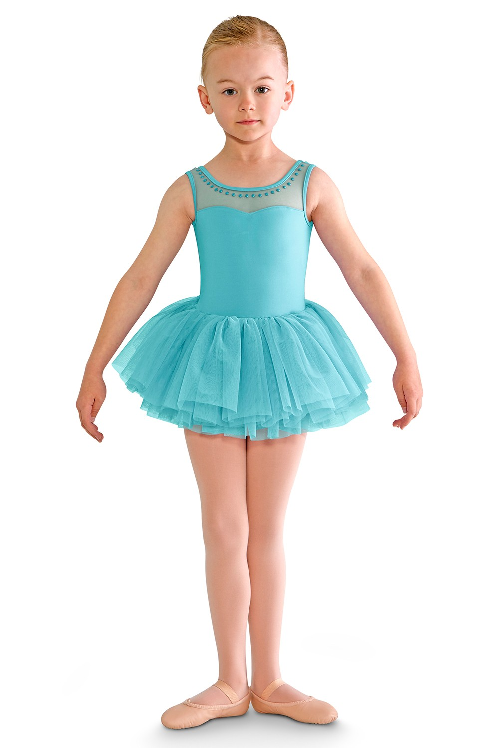 Blondelle Girls Skirted Leotards