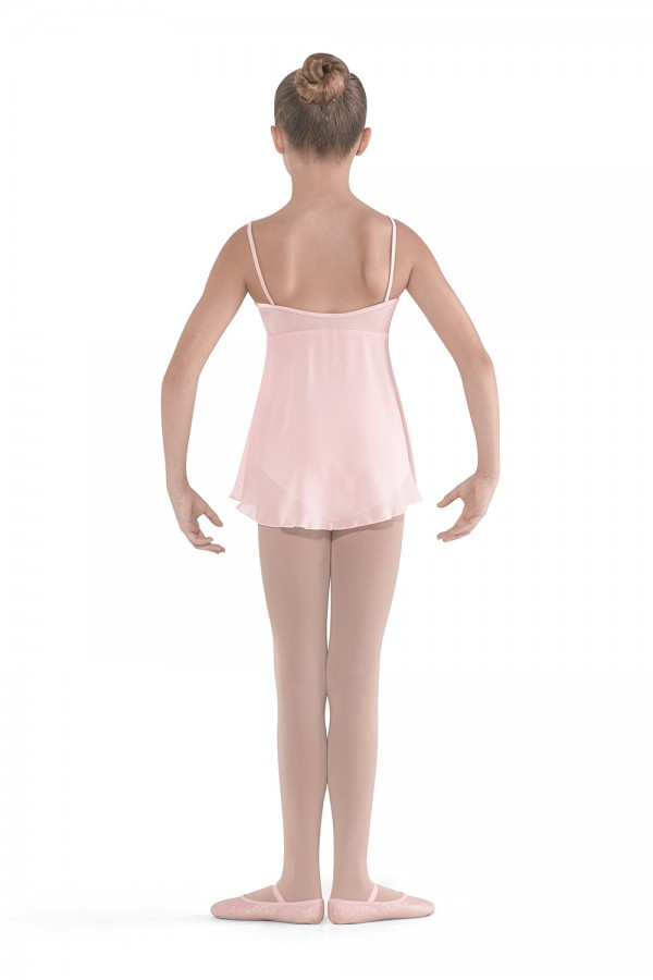 image - Side Split Skirted Camisole Children's Dance Leotards