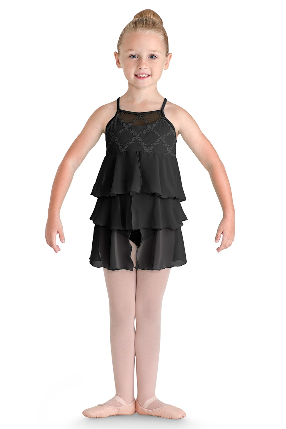 Triple Tier Dress Children's Dance Leotards