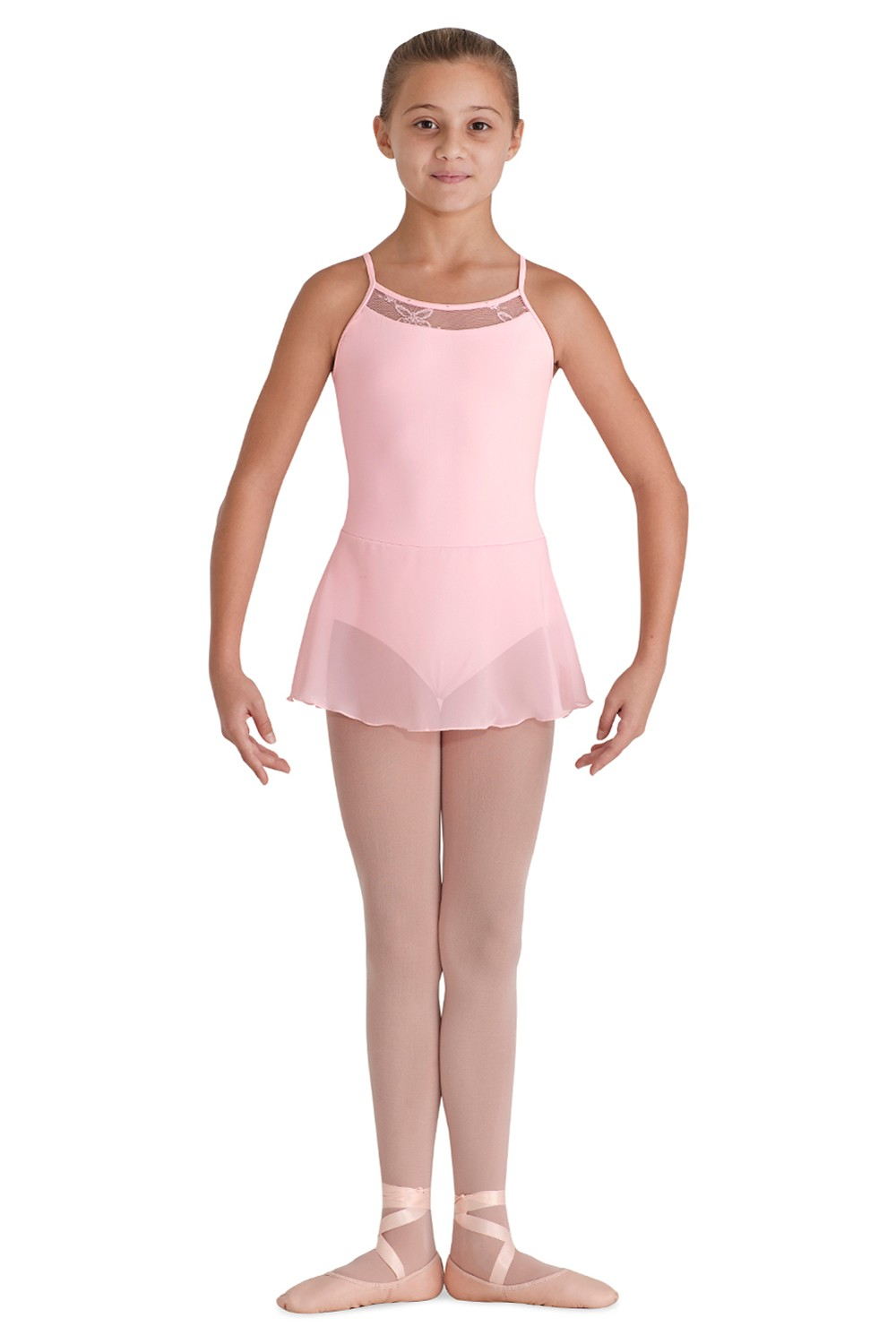 Bow Back Camisole Dress Children's Dance Leotards