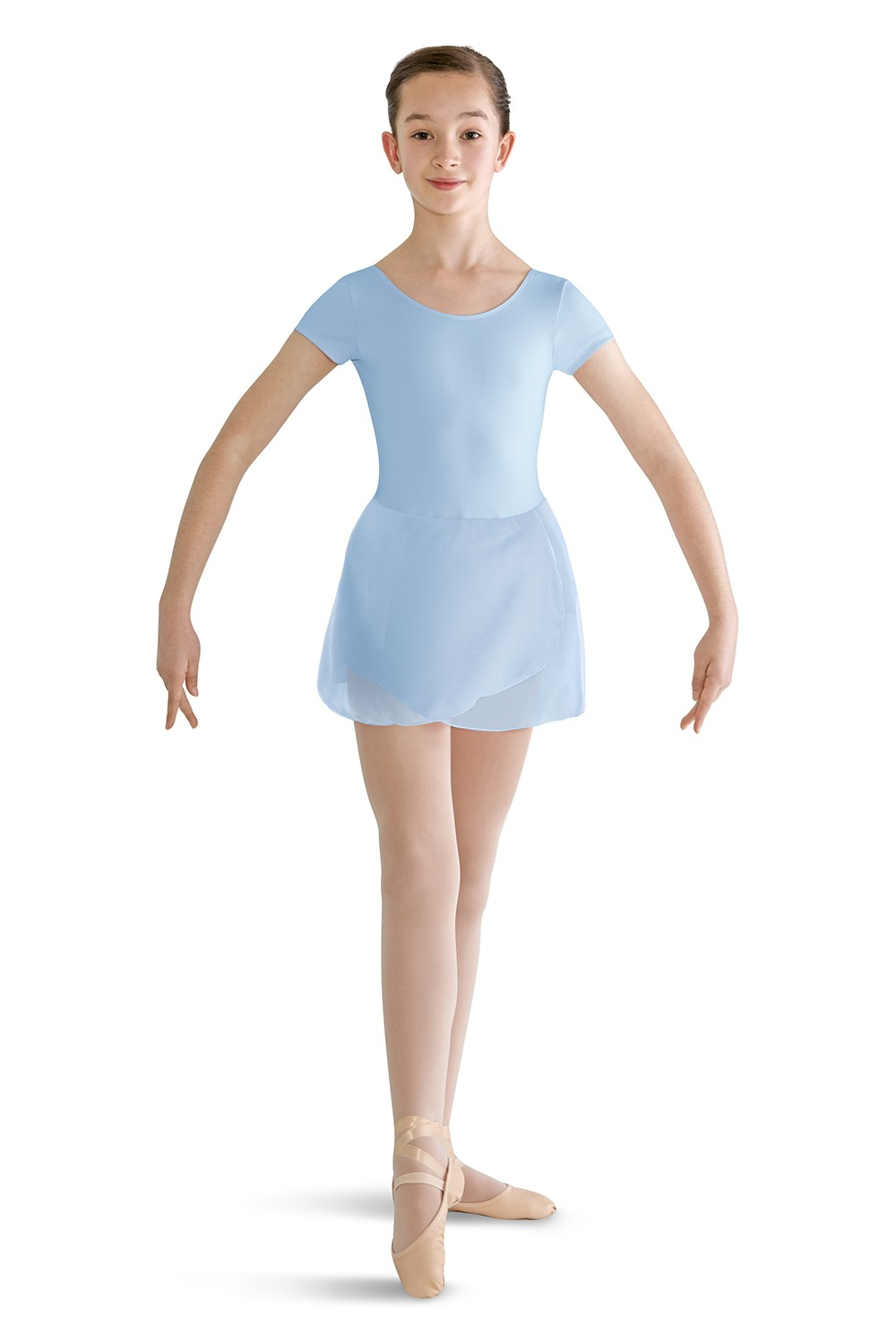 Prisha Girls Skirted Leotards