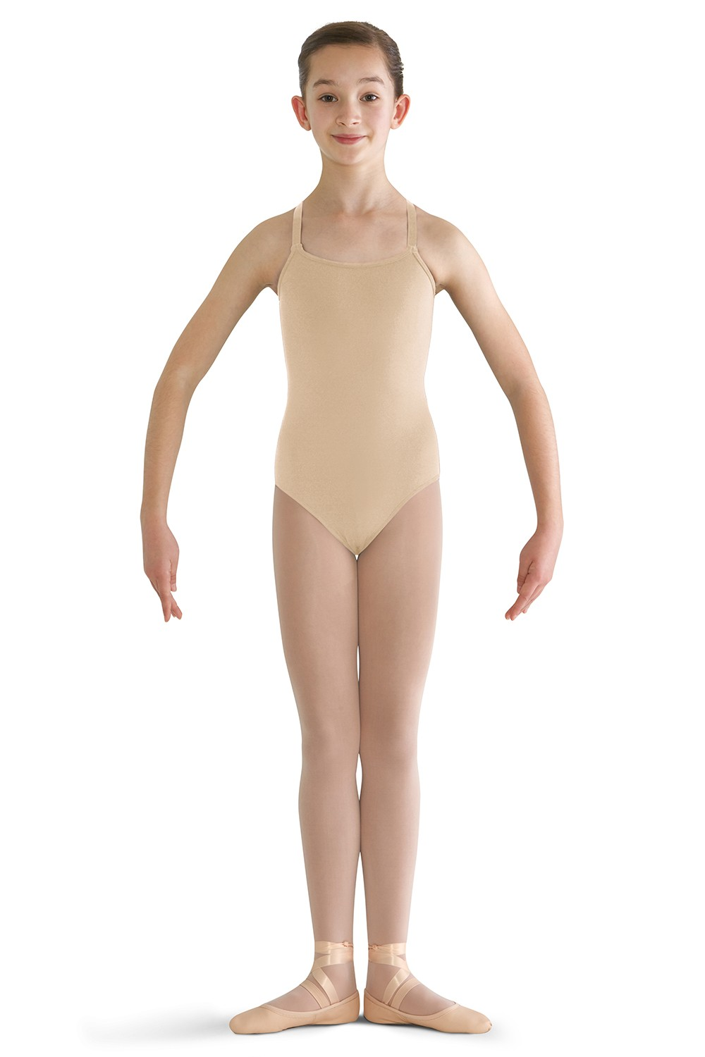 Nylon Adjustable Strap Leotard Children's Dance Leotards