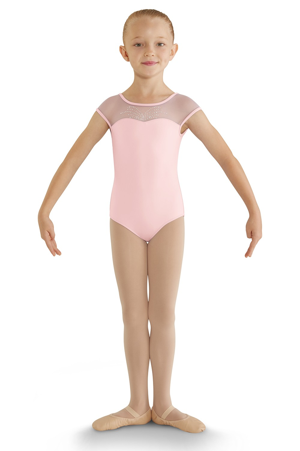 Bow Back Cap Sleeve Leotard Children's Dance Leotards