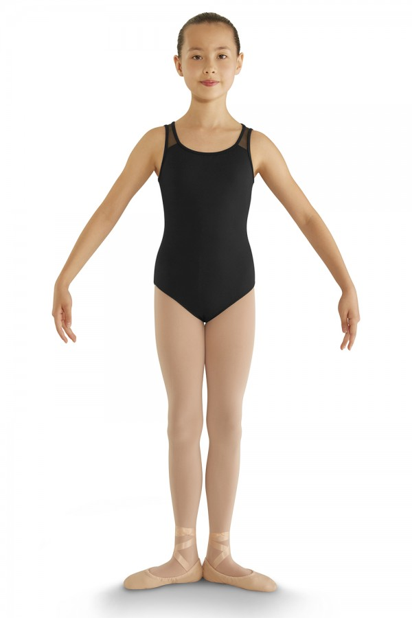 image - Bow Detail Tank Leotard Children's Dance Leotards