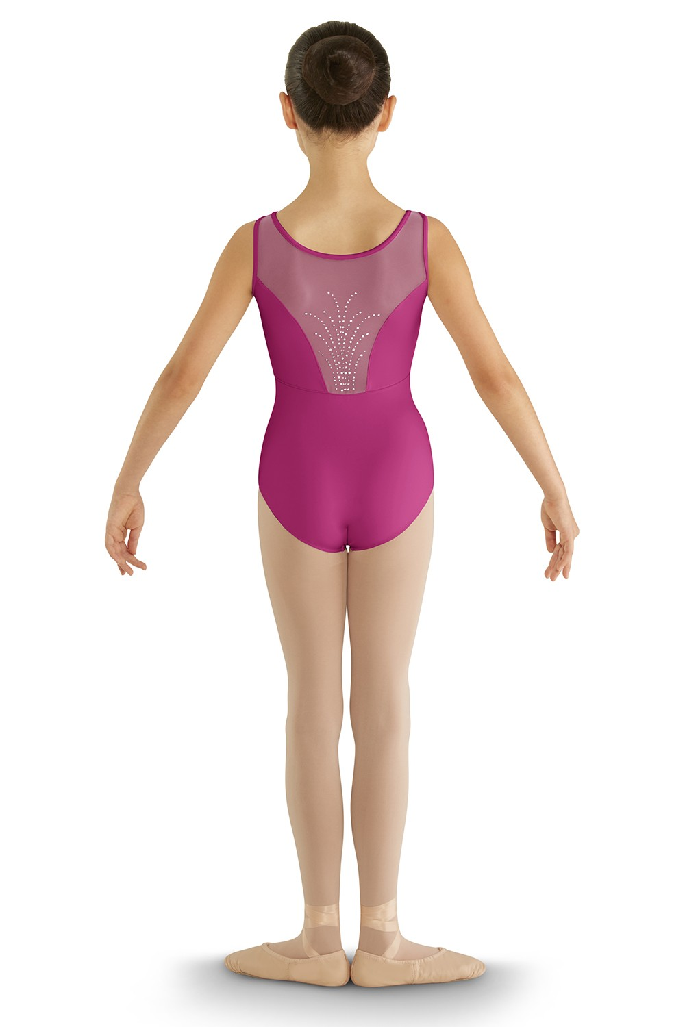 Diamante Back Tank Leotard Children's Dance Leotards