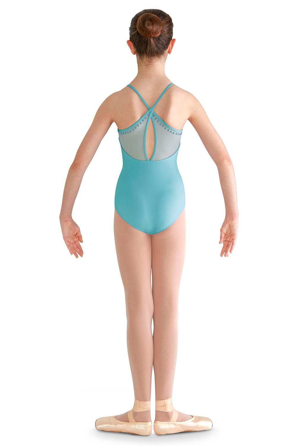 High Neck Cami Leo Children's Dance Leotards