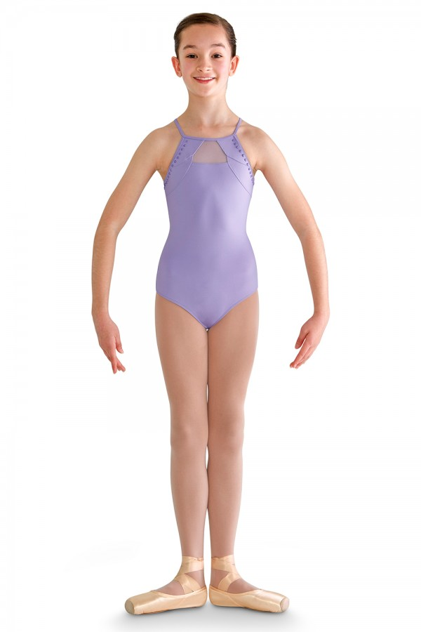 image - High Neck Cami Leo Children's Dance Leotards