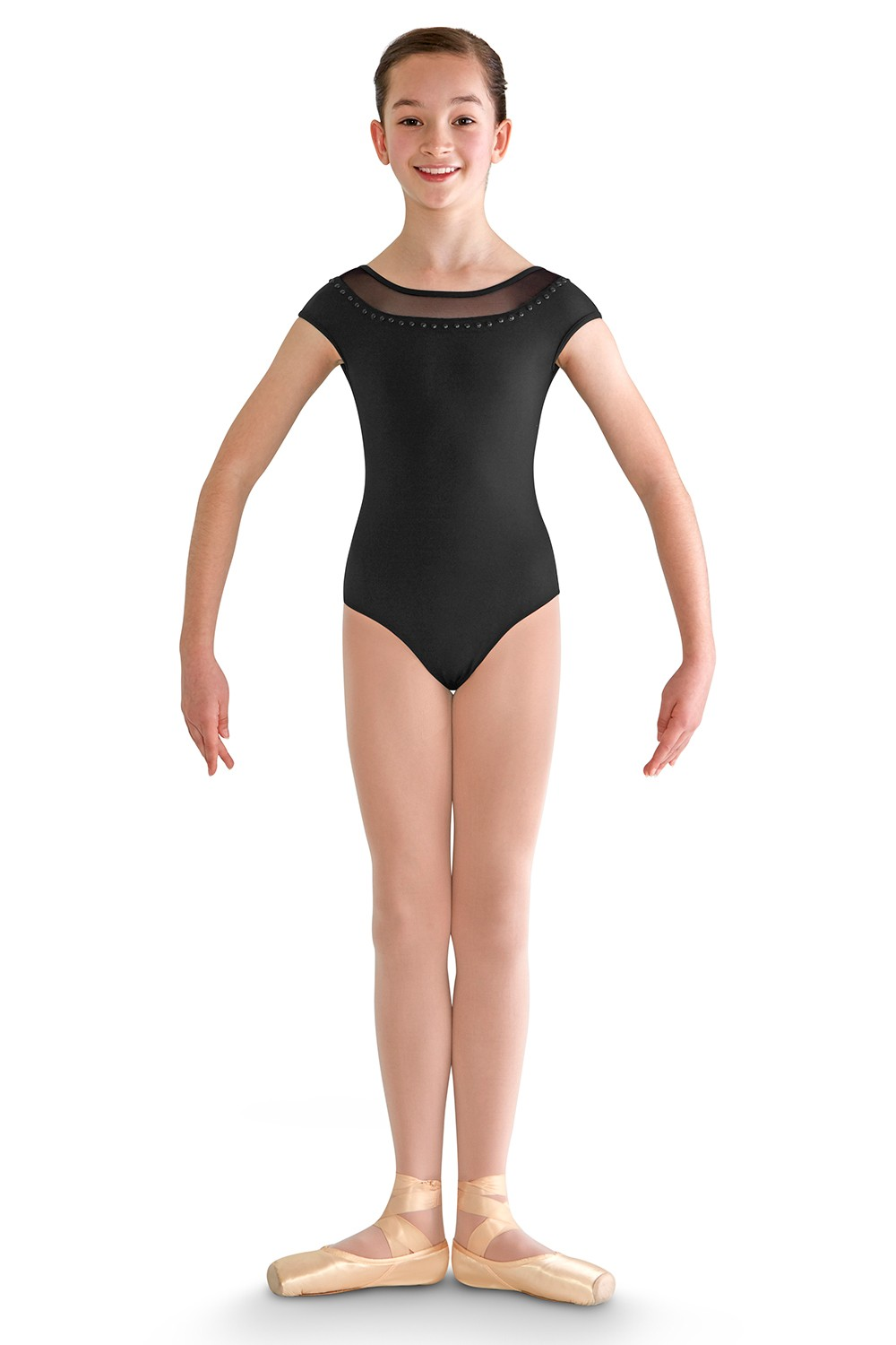 Yoked Cap Sleeve Leo Children's Dance Leotards