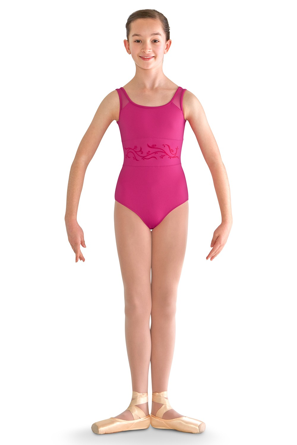 Waist Panel Tank Leo Children's Dance Leotards