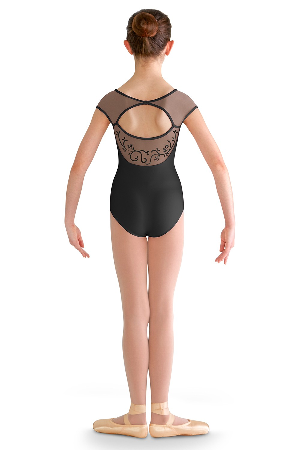 Scoop Back Cap Sleeve Children's Dance Leotards