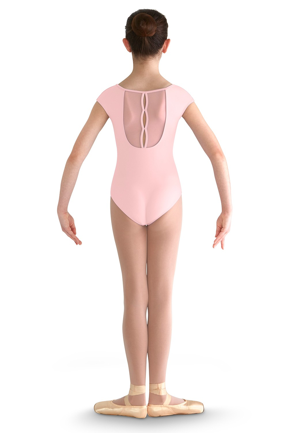 Front Yoke Cap Sleeve Children's Dance Leotards