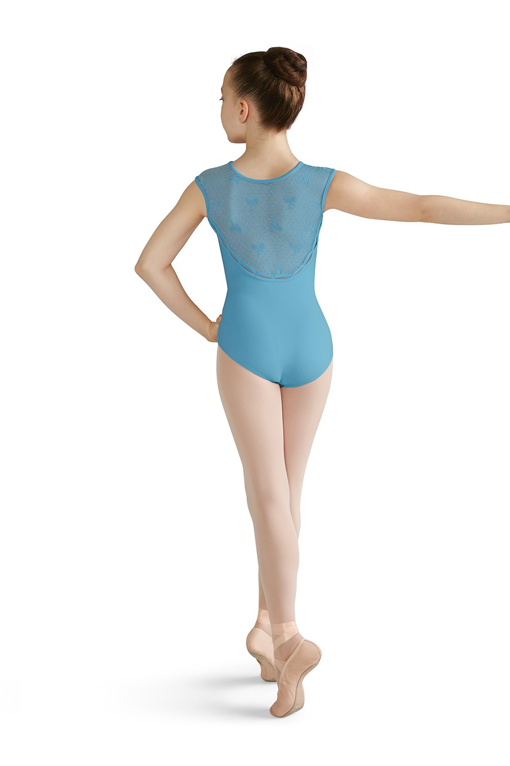 Emmy Girls Short Sleeve Leotards