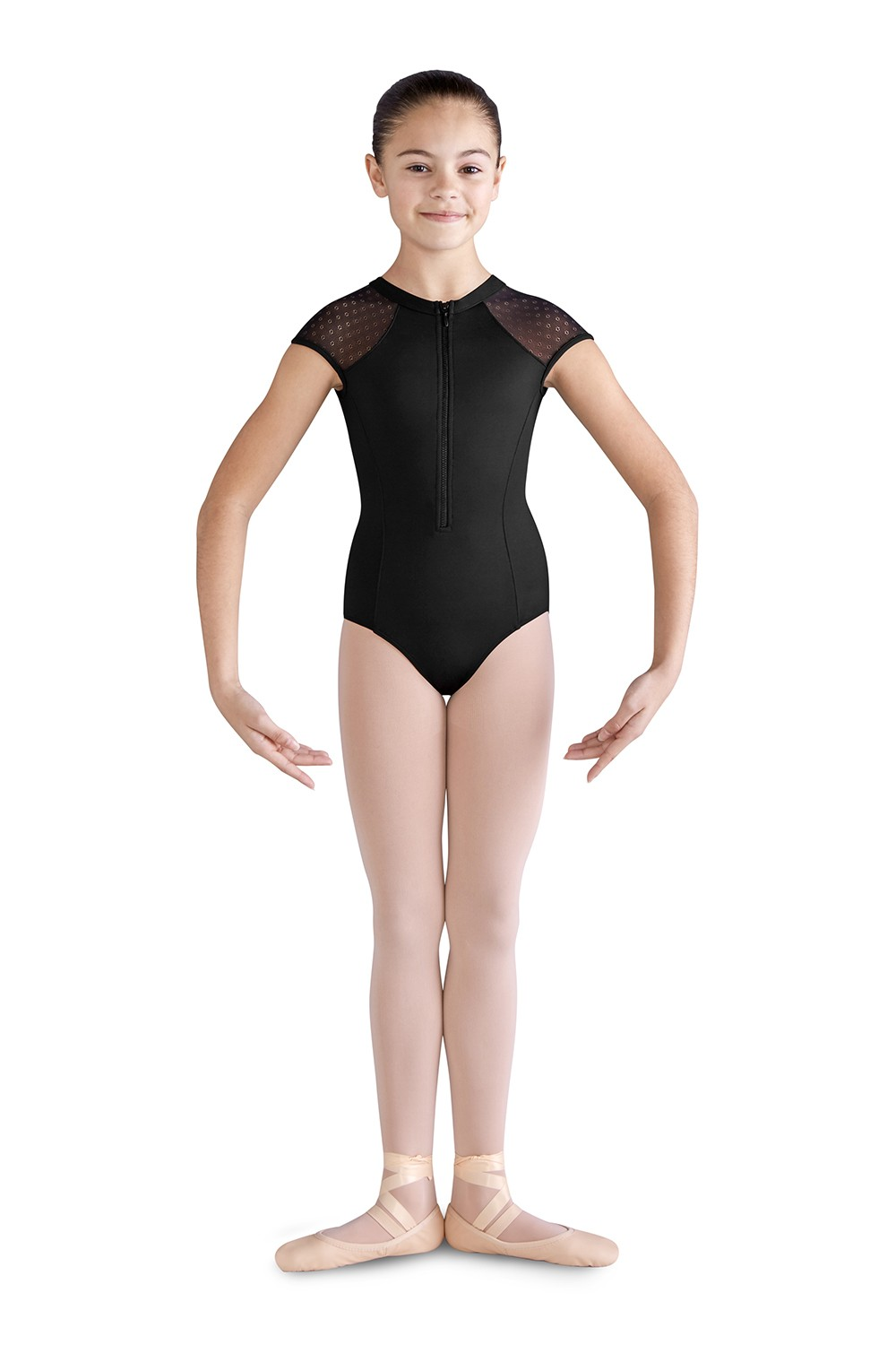 Sabra Girls Short Sleeve Leotards