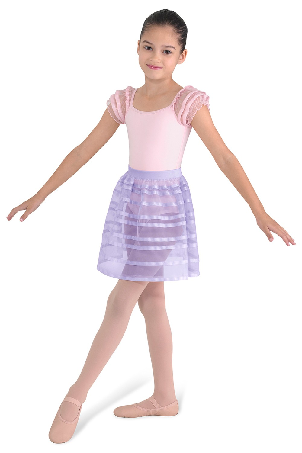 Knee Length Skirt Children's Dance Skirts