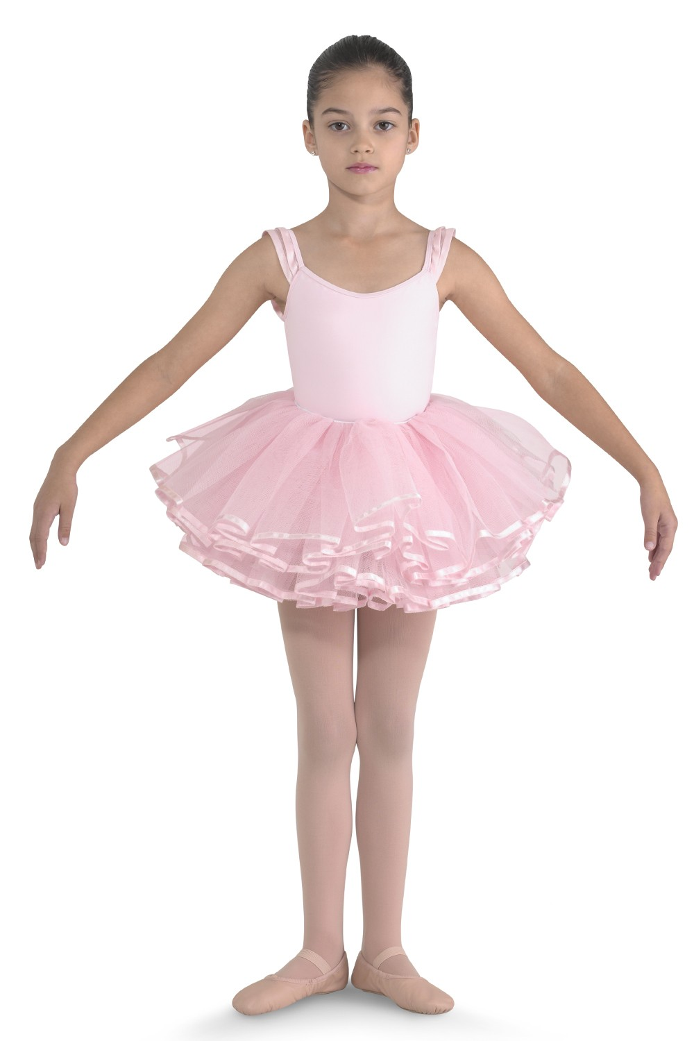 Ribbon Trim Tutu Children's Dance Skirts