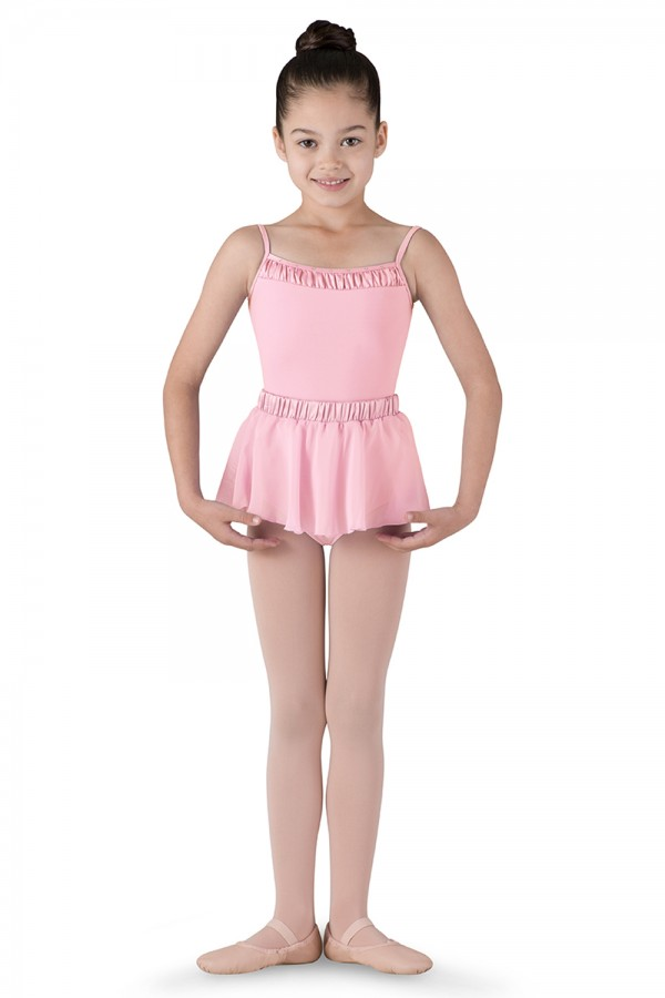 image - Satin Waist Skirt Children's Dance Skirts
