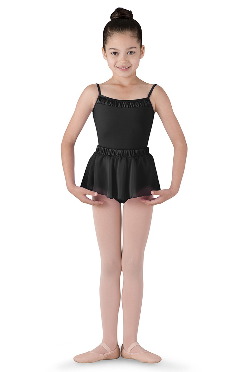 Satin Waist Skirt Children's Dance Skirts
