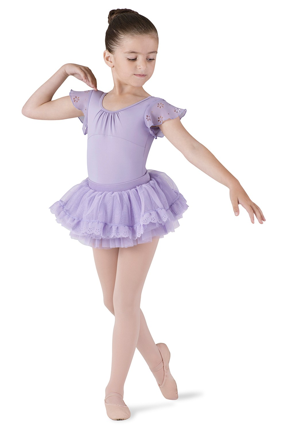 Tutu Skirt With Applique Children's Dance Skirts