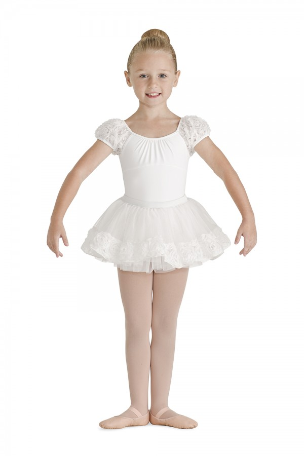 image - Flower Hem Band Tutu Skirt Children's Dance Skirts