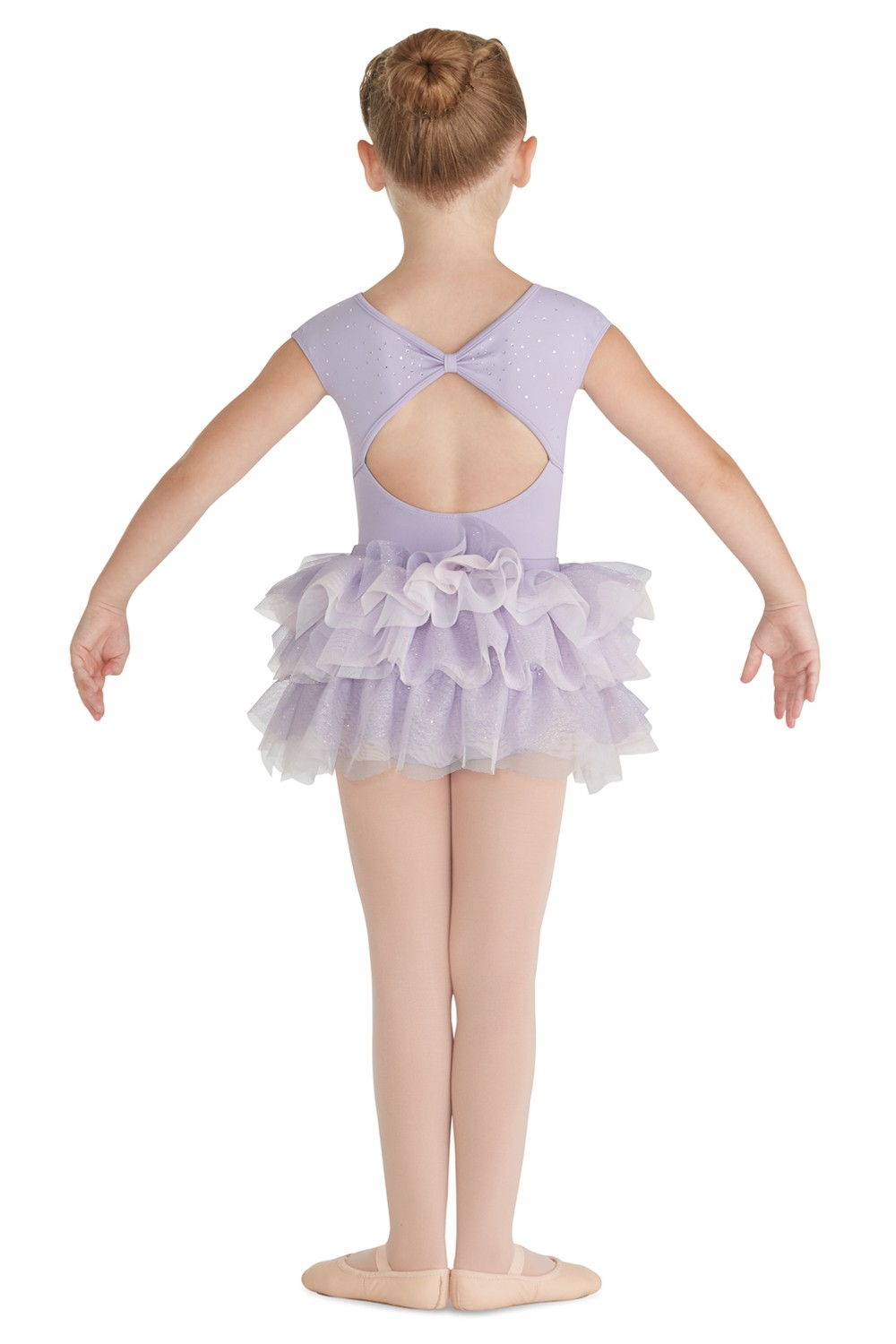 Glitter Mesh Tutu Children's Dance Skirts
