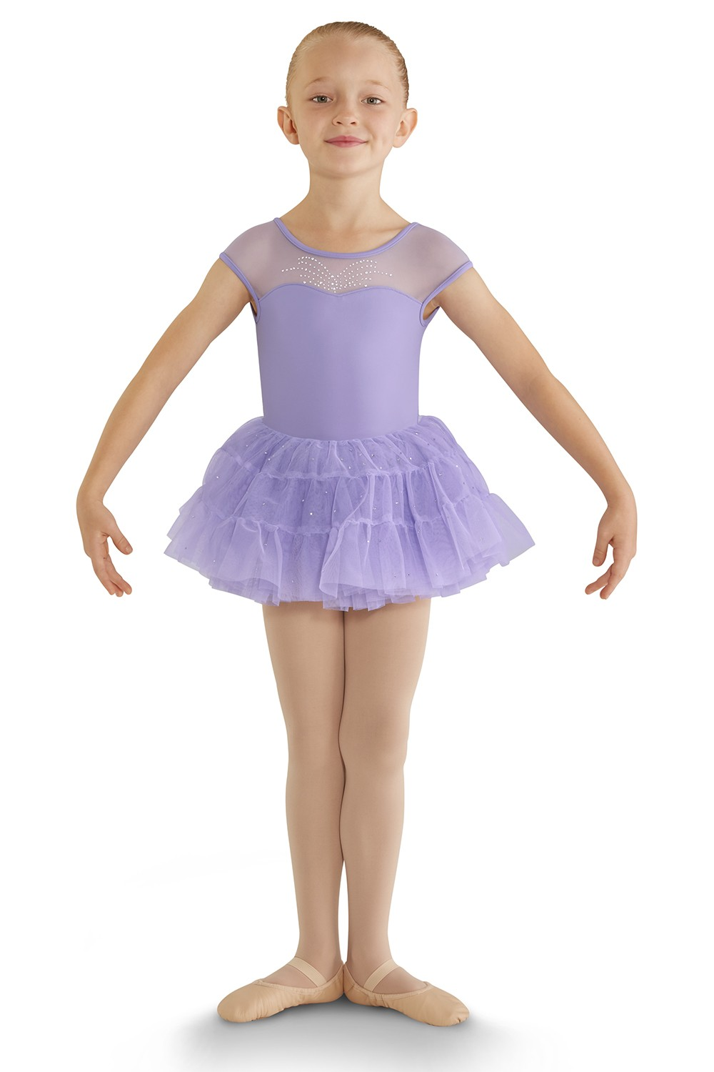 Panelled Tutu Skirt Children's Dance Skirts