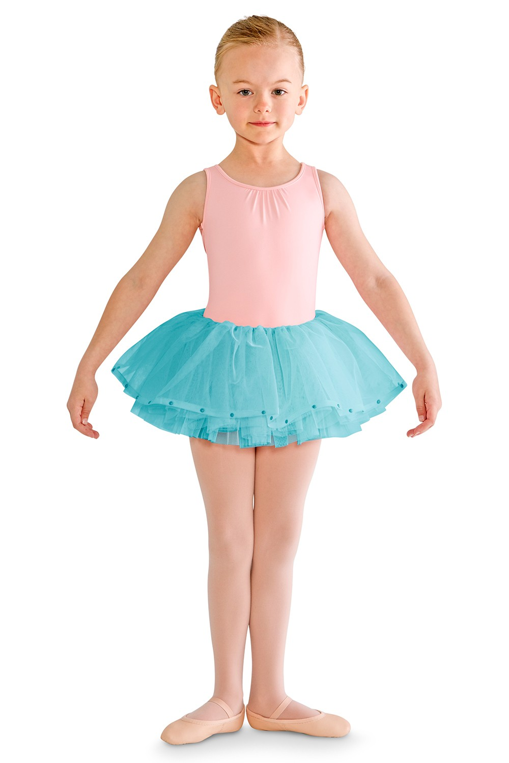 Pearl Hem Tutu Skirt Children's Dance Skirts