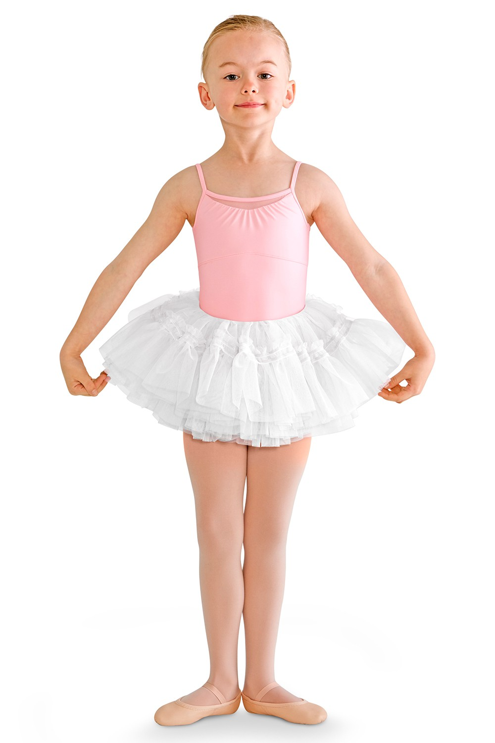 Peplum Tutu Skirt Children's Dance Skirts