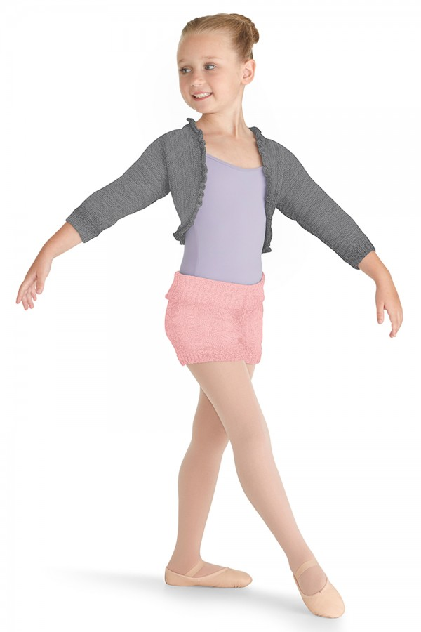 image - Cable Knit Short Children's Dance Shorts