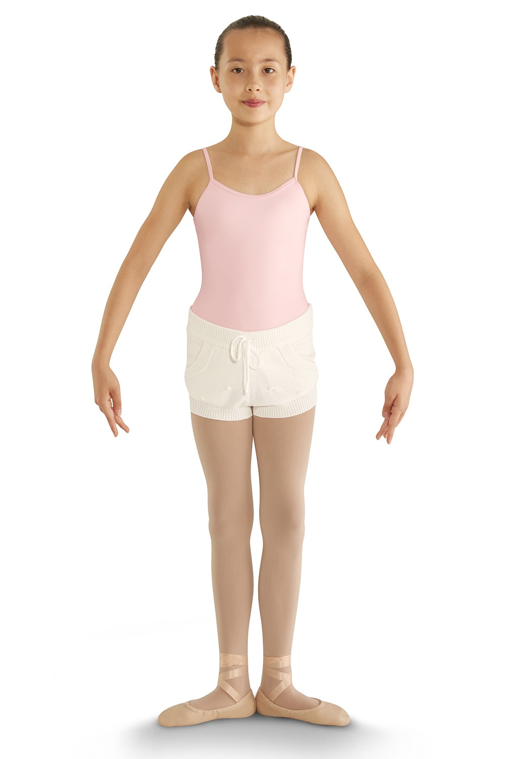 Bubble Knit Short Children's Dance Shorts