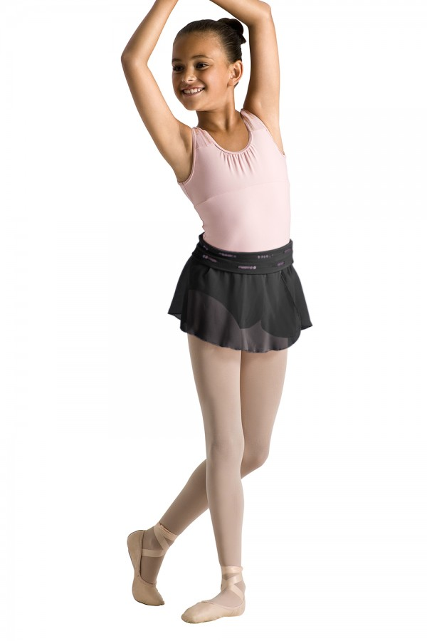 image - Sequin Trim Skirt Children's Dance Skirts