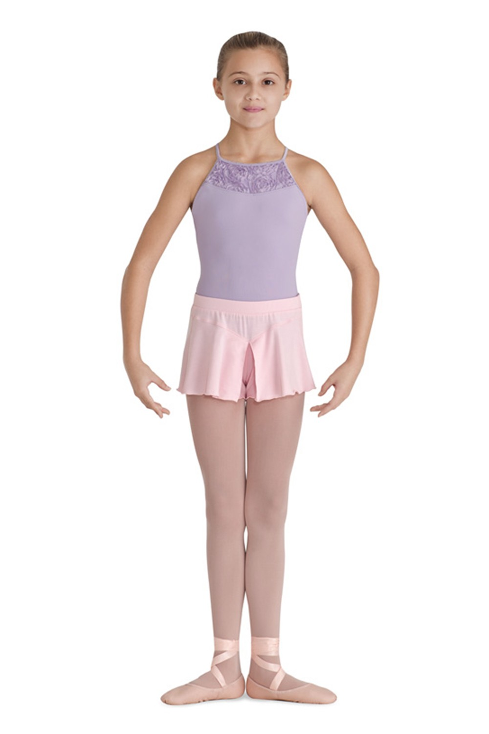 Split Jersey Short Children's Dance Shorts