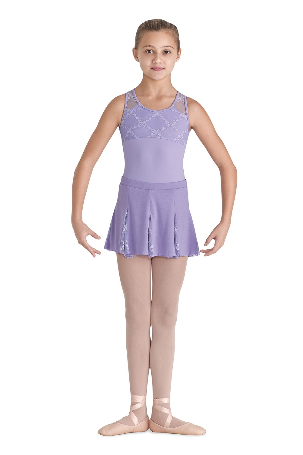 Soft Jersey Skirt Children's Dance Skirts