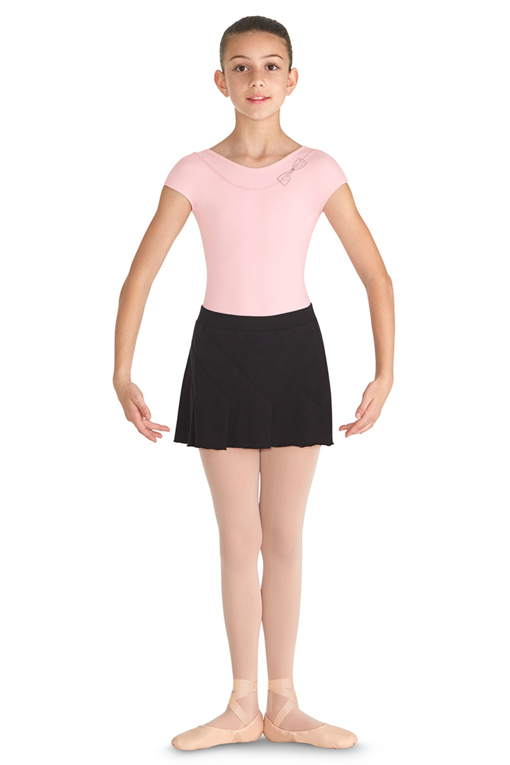 Pintuck Flip Skirt Children's Dance Skirts