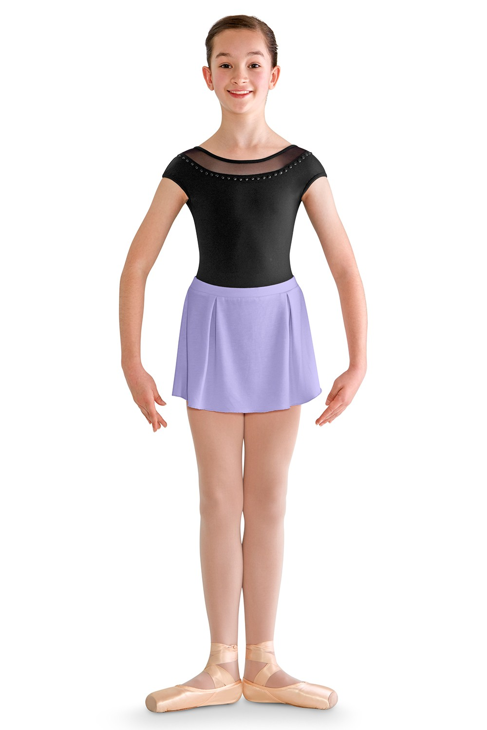 Box Pleat Skirt Children's Dance Skirts