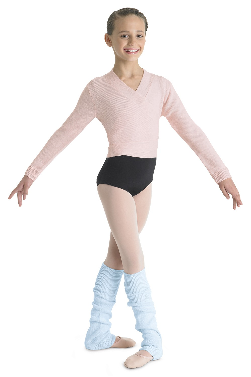 Girls Knee High Leg Warmer Children's Dance Warmups