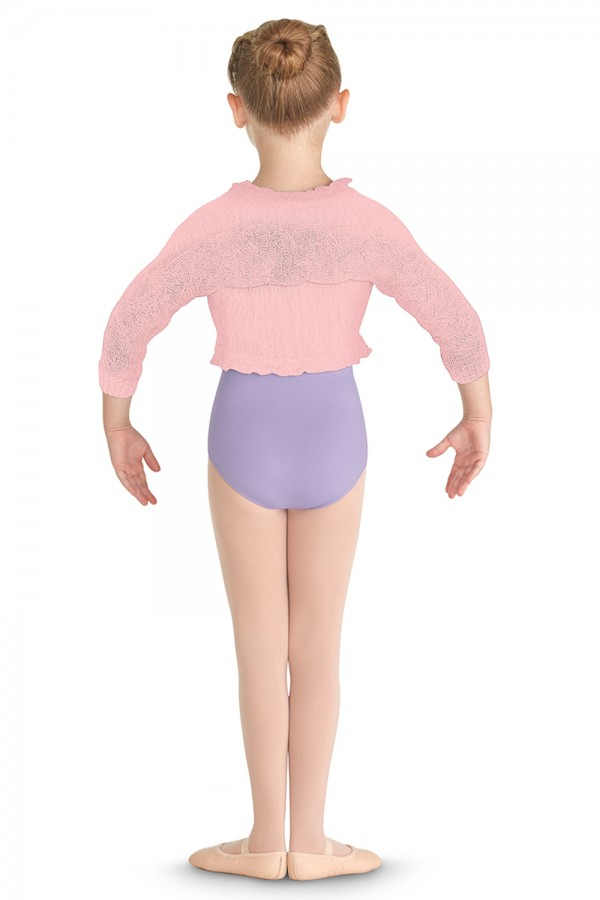 image - Frill Neck Shrug Children's Dance Tops