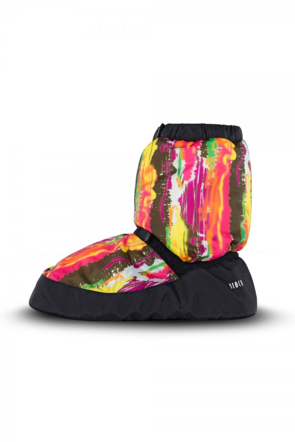 image - Printed Booties Women's Dance Warmups