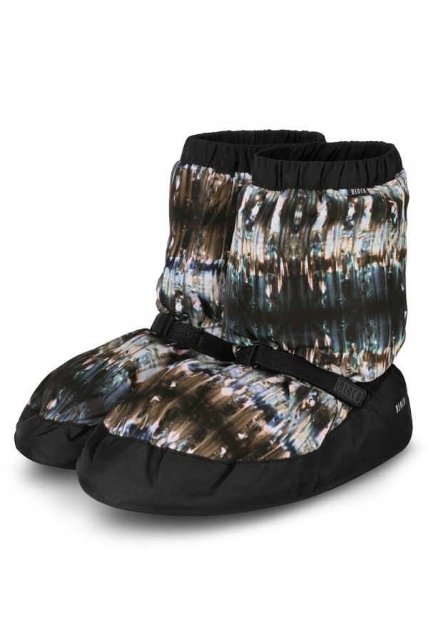 image - Printed Warm Up Bootie Women's Dance Warmups