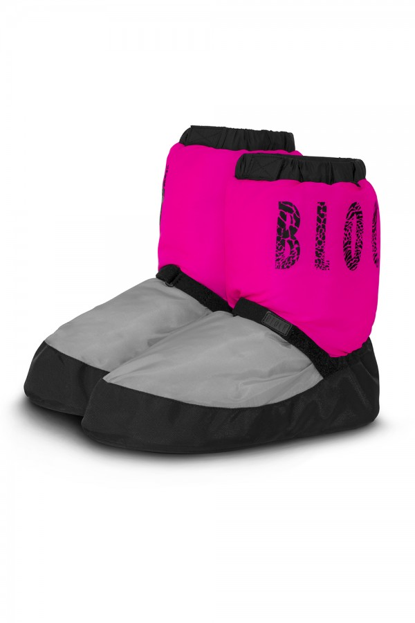image - Unisex warm up Two-Tone booties Women's Dance Warmups