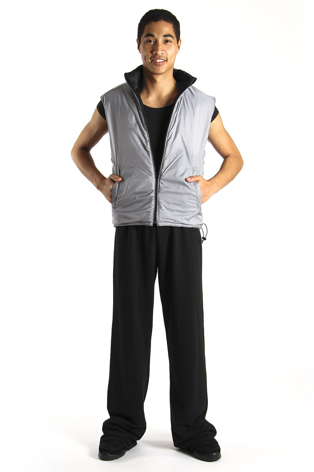 Mens Reversible Warm Up Gilet Men's Dancewear