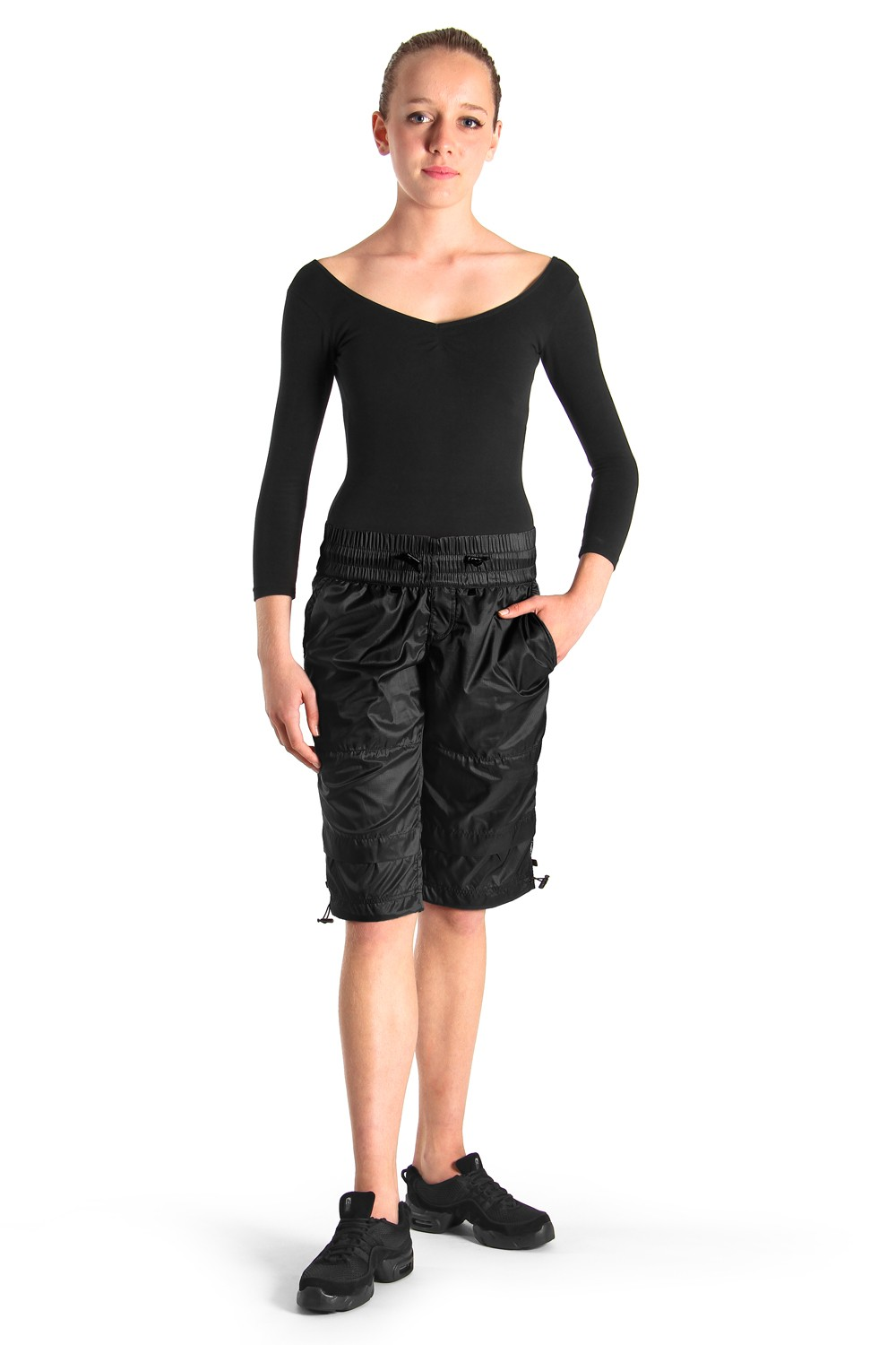 Unisex Warm-up Shorts Women's Dance Shorts