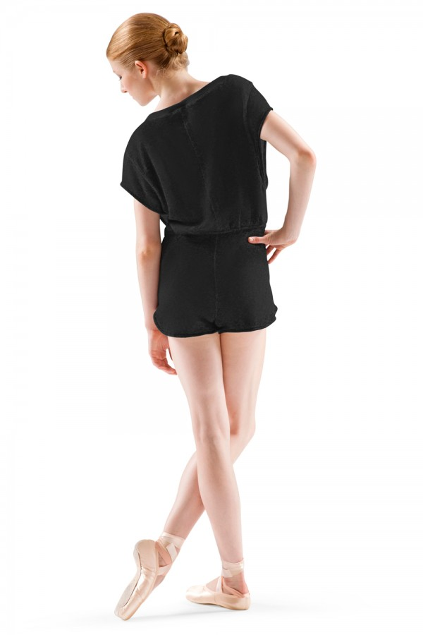 image - Irina and Max Terry Jumpsuit Women's Dance Warmups