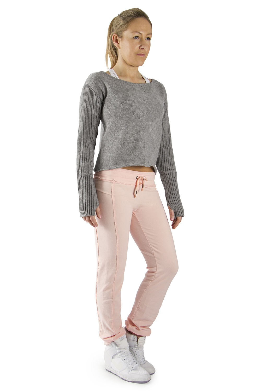 Boat Neck Knit Women's Dance Warmups