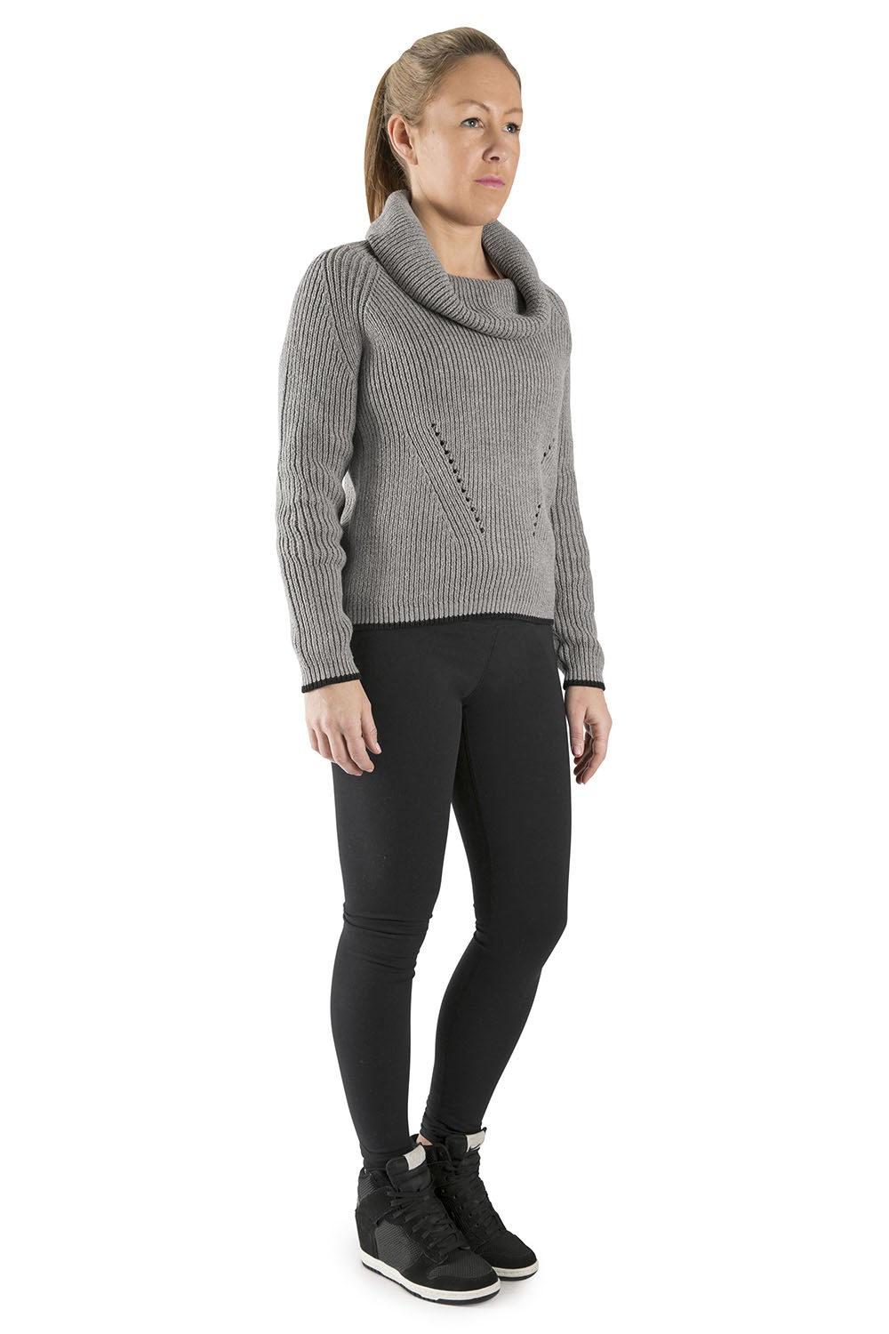 Roll Neck Knit Women's Dance Warmups